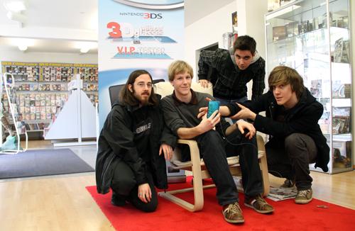 Die NBN-Crew am 3DS Event, leider ohne Phippozzz
