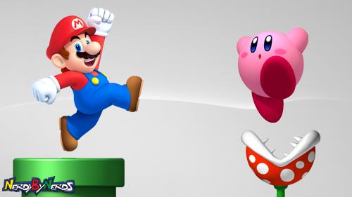 Mario x Kirby