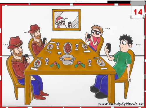 14nerd-weihnachtsessen